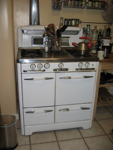 Stove with new handles!