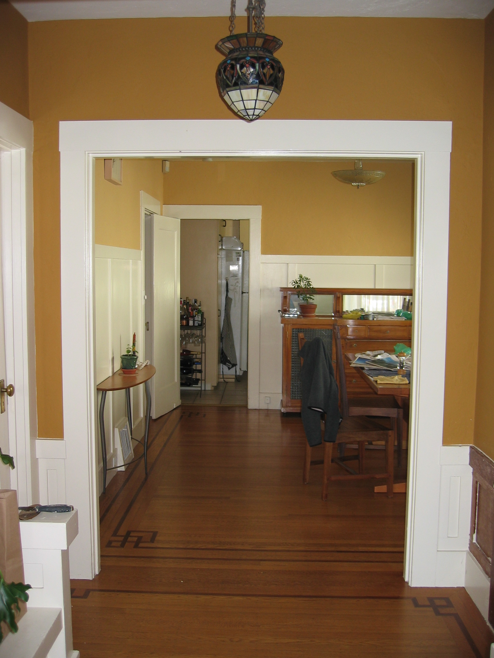 Another once and future doorway There were originally french – French Doors Dining Room