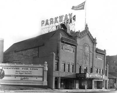 The Parkway in its heyday