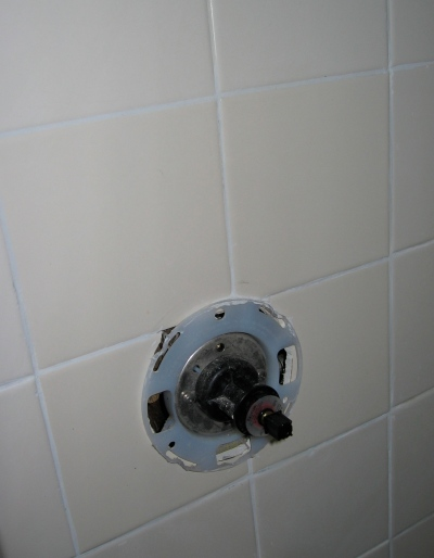 New valve and tile