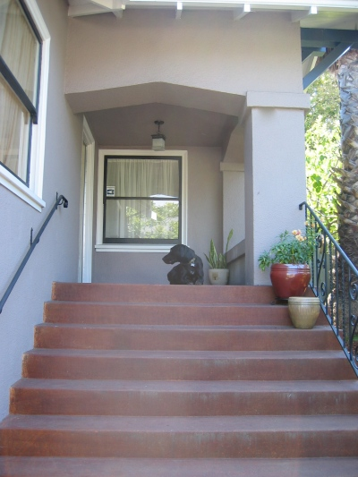 Porch steps