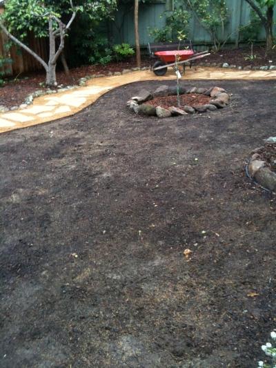 Yard pre-grass